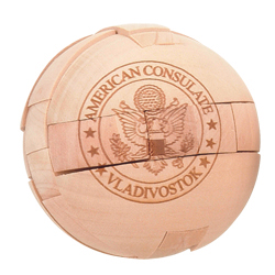 Wood Puzzle Ball 649N
