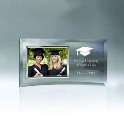 Curved Graduation Picture Frame