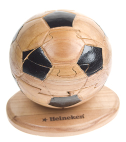 Custom Wood Puzzle - Soccer